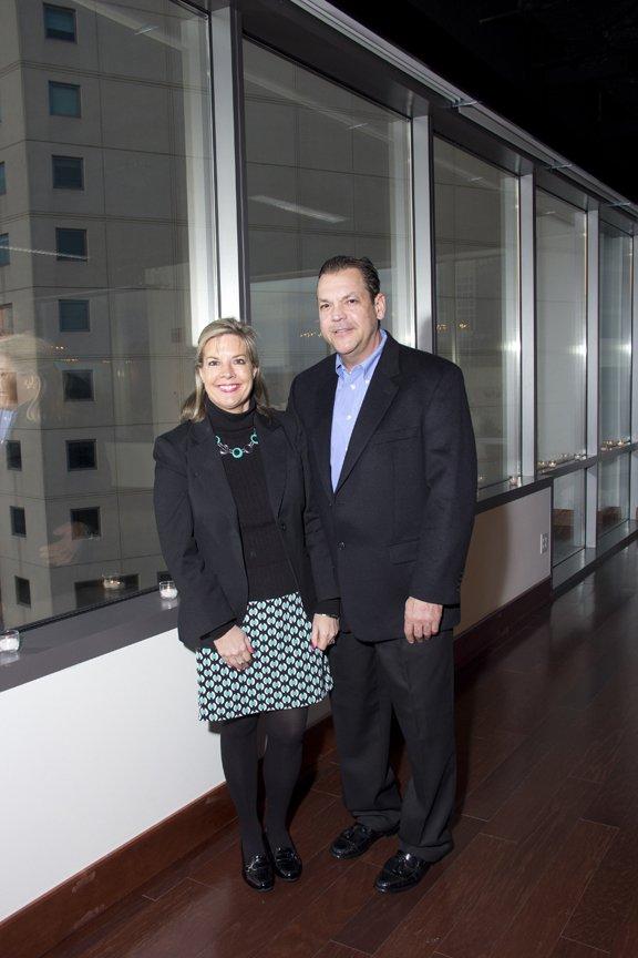 Dorothy Mitchell and Mark Behn