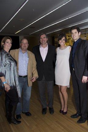 Amy and Scott McComb, Randy Malloy, Monica Day and Sean Martin