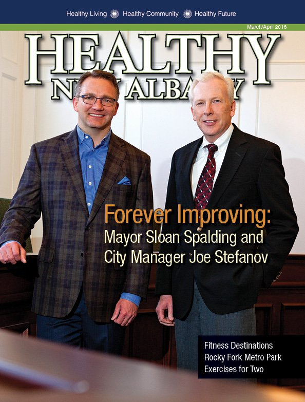 Healthy New Albany cover March/April 2016