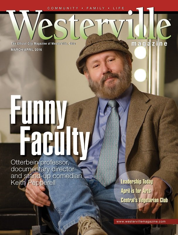 Westerville Magazine cover March/April 2016