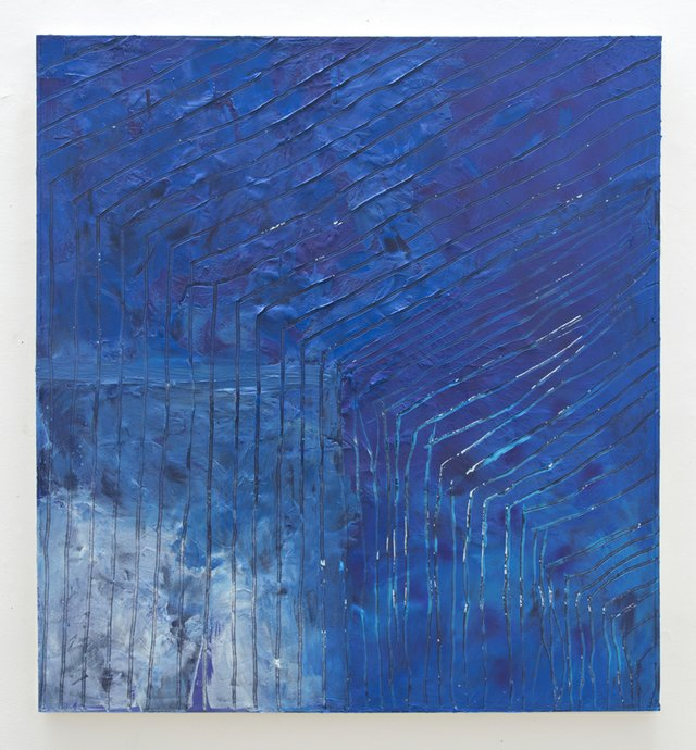 Hammond Harkins--My president's black, but my painting's blue by Alteronce Gumby.jpg