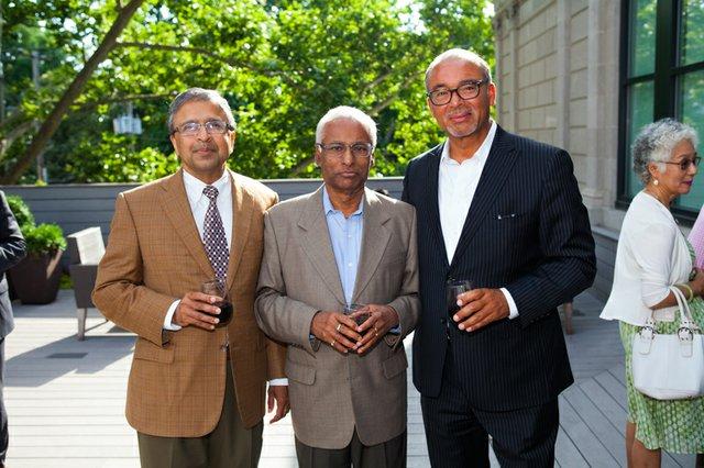 Ranjan Manoranjan, Nirmal Sinha, Michael Coleman.jpg