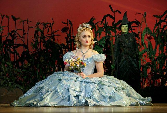 Amanda Jane Cooper as Glinda and Emily Koch as Elphaba (b). Photo by Joan Marcus.jpg