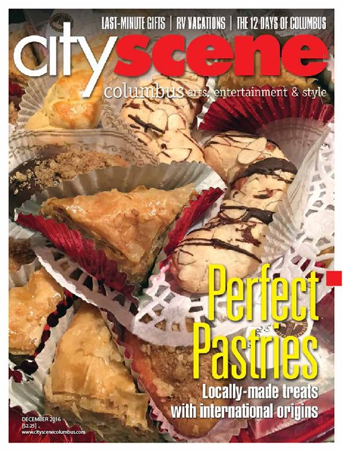CityScene December 2016 Cover