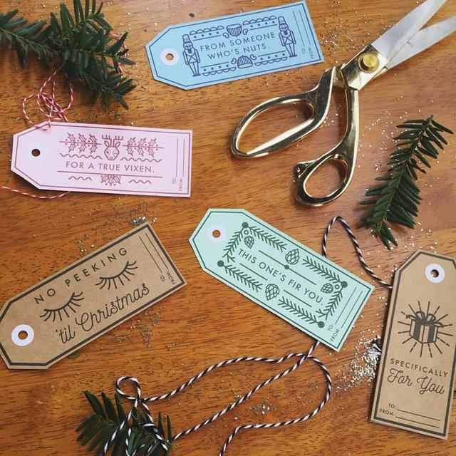 CCAD Art Fair, Sarah Moore, gift tags.jpg