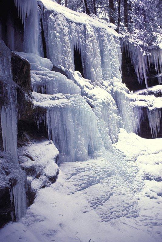 Hocking Hills State Park in Winter